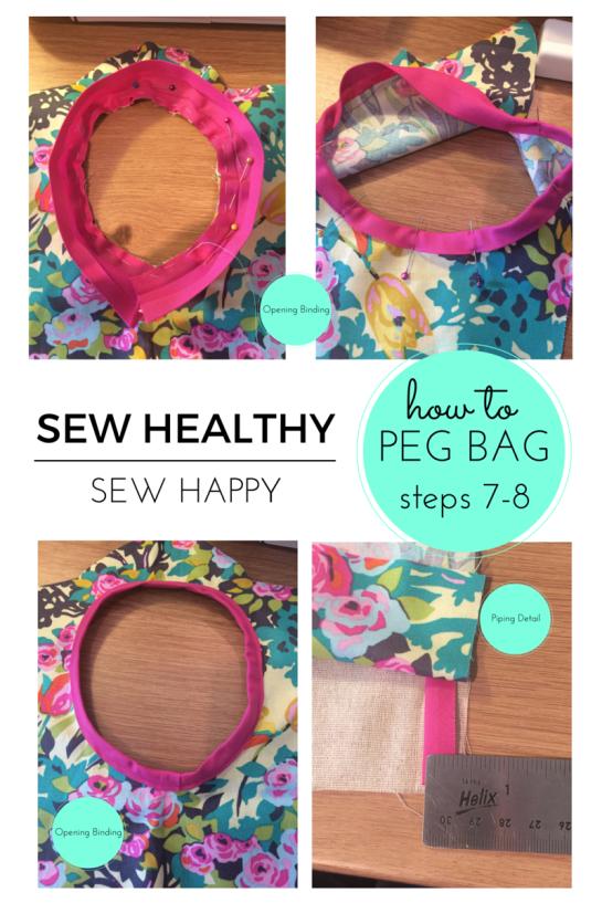 Peg Bag Step 7-8